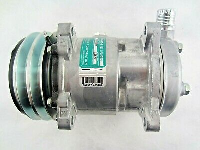 New OEM Sanden AC Compressor S5072 S5071 12 volt SD5H09 R134a SD505 REPLACEMENT