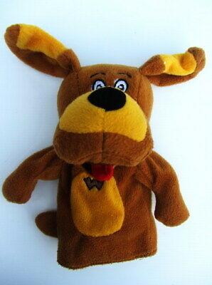 """The Wiggles /""""Wags the Dog/"""" Hand Puppet 2007 20cms high"""