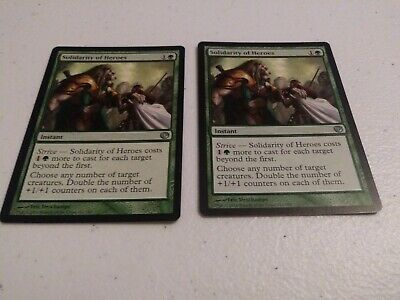 MTG The Gathering Solidarity of Heroes LP Magic Journey into Nyx