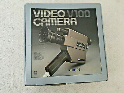 Philips Video Camera V100. Classic Rare Collectible