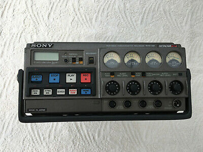 Sony BVW 35 portable video recorder.  PAL format