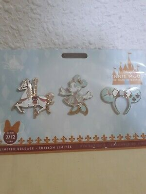 Disney Minnie mouse the main attraction Pin's  julio july 7/12