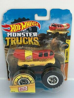 Hot Wheels Monster Trucks Fast Foodie Oscar Mayer Brand New Rare Eur 16 48 Picclick Fr
