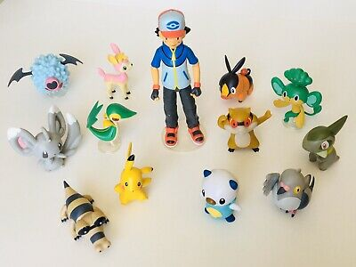 pokemon figures anime squirtle 1.25 inches each USA seller cartoon manga