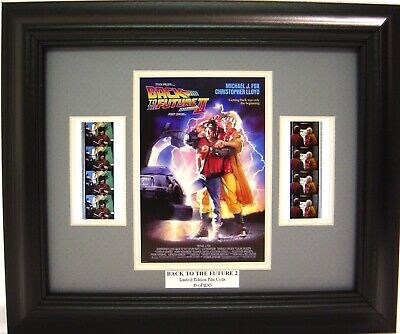 Back To The Future Ii Framed Film Cell Michael J. Fox