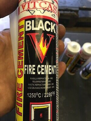 Vitcas Fire Cement 10 Tubes