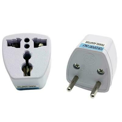 Universal Travel AC Wall Power Adapter CN and UK to Socket AU Converter AU N3X6
