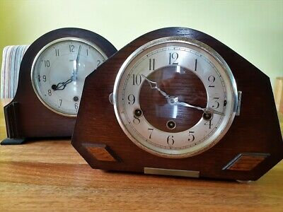 2x Vintage MANTEL Clock SMITHS FOREIGN Parts Repair