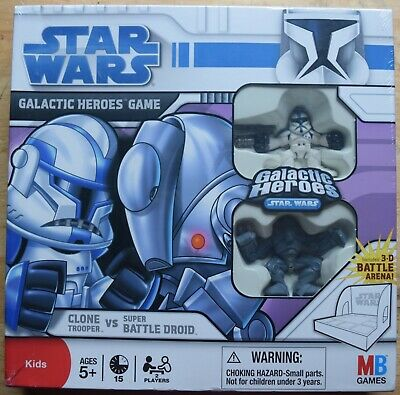 New Star Wars Galactic Heroes Red Battle Droid Green Clone Trooper Action Figure