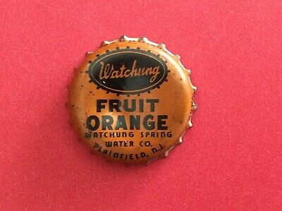 SUN CREST ORANGE SODA Bottle Cap Cork Lined USED