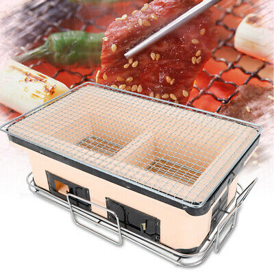Japanese Yakitori BBQ Homma Factory SunField Barbecue Stove Charcoal Grill M-450