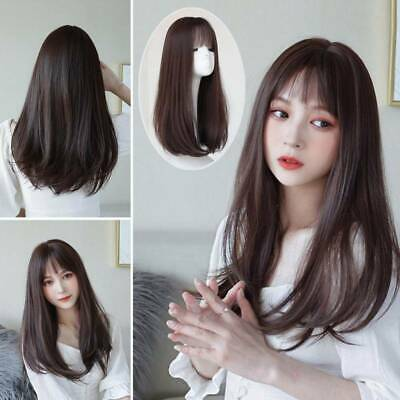 Womens Ladies Real Natural Short Straight Hair Wigs Bob Long Curly Cosplay Wigs