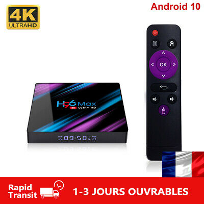 H96 MAX TV Box Android 10 RK3318 2.4G/5G Wifi BT4.0 4K Multimédia H96MAX 2GB 4GB