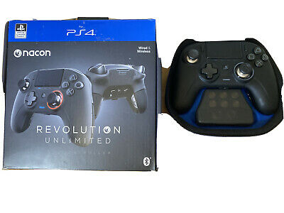 NACON Revolution Unlimited Pro Gamepad for PlayStation 4 - Black (Refurbished)