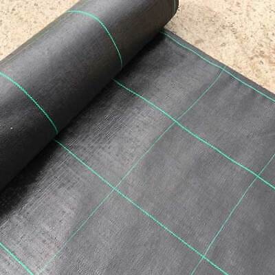 Heavy Duty Weed Membrane Weed Control Fabric Multipurpose Garden Ground Cover