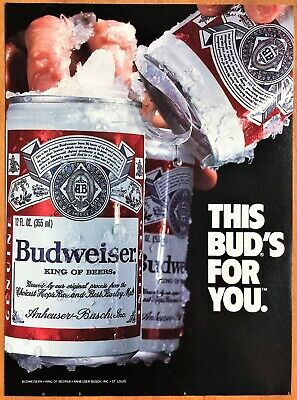 """10 Budweiser 2015 beer mats /""""This Bud/'s for you/"""""""