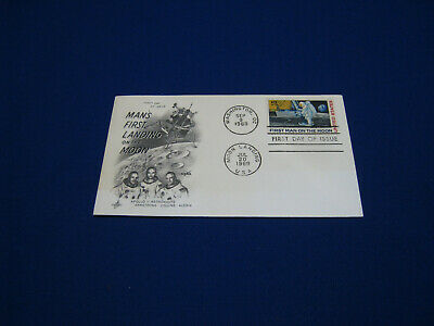 First Man on the Moon First Day Cover