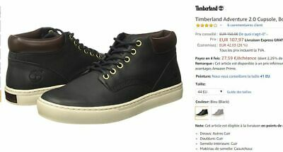 chaussure timberland hommes adventure 2.0