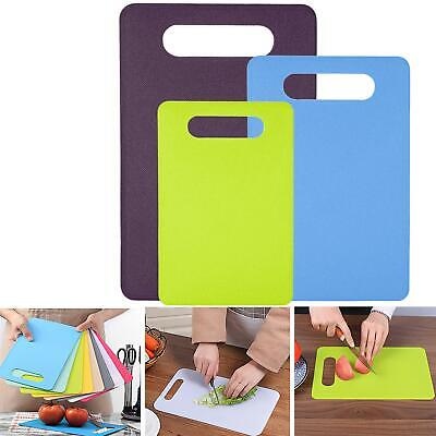Professional Catering Chopping Boards Colour Coded Cutting Board 3 Pieces