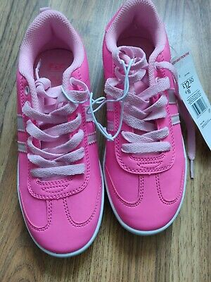 GIRLS PINK TRAINERS Size 2 from Tesco F