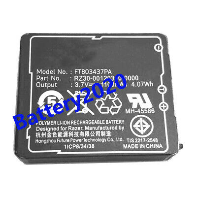 FT803437PA Genuine Battery For Razer Gaming Mouse LP083442A RZ30-00120300-0000
