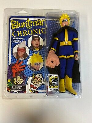 "COCKNOCKER Mark Hamill Bluntman /& Chronic Movie 8/"" inch Clothed Figure 2014"