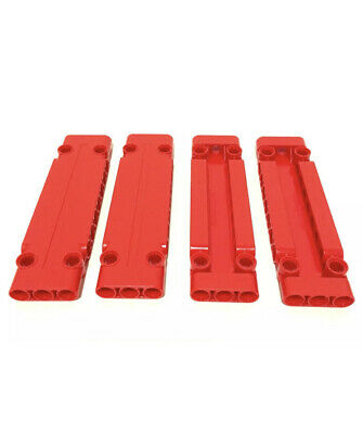 10 x NEW LEGO TECHNIC RED STUDLESS PANELS 3 x 11 x 1 PART No 6224922