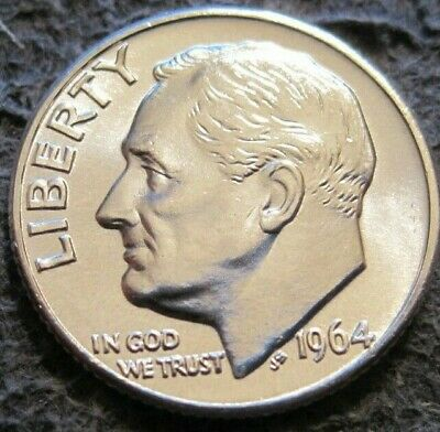 1970 D Roosevelt Uncirculated Dime ~ Raw Coin from Bank Roll