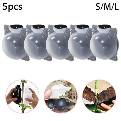 5pcs Adjustable Plant Rooting Ball Grafting Rooting Growing Box Breeding CaseKTP