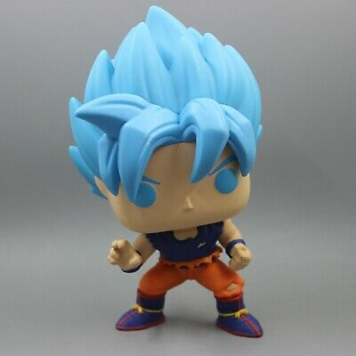 Funko Pop SSGSS Goku #668 Dragon Ball Z Exclusive Mint/Near Mint Pop Protector