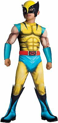 Rubie's Costume Child's Deluxe Muscle-Chest Wolverine Costume, Medium