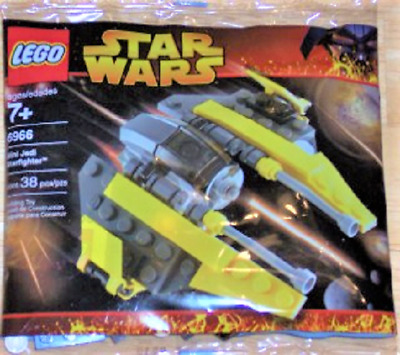 Lego Star Wars Mini Jedi Starfighter 6966 Disney 38 pcs ages Revenge of the Sith