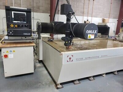 2020 Omax 55100 JetMachining Center Precision Abrasive Waterjet System 140 Hours