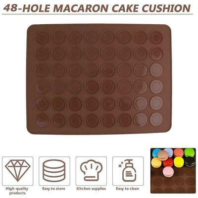 Pastry Tool Large Macaron Silicone Baking Accessory Cake HOT Christmas Mat Y4V4