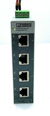 Phoenix Contact 2891152 Industrial Ethernet Switch FL SWITCH SFN 5TX #4809