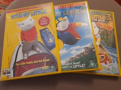 Stuart Little 1 3 Dvd Dvd Ugvg The Cheap Fast Free Post 3 49 Picclick Uk