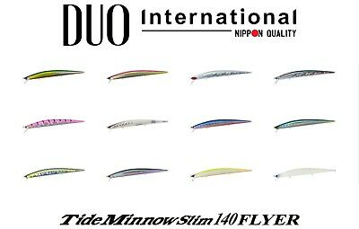 1166 Duo Tide Minnow Flyer Slim 140 Sinking Lure CPA0057