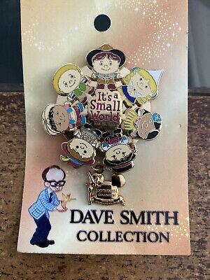 DISNEY WDW DAVE SMITH COLLECTION THE FIRST THEME PARK PIN WALT DISNEY