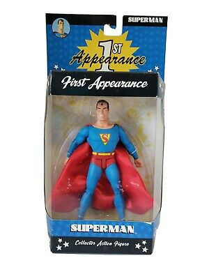 DC DIRECT COLLECTIBLES 1ST FIRST APPEARANCE SUPERMAN THROUGH THE AGES GIFT SET