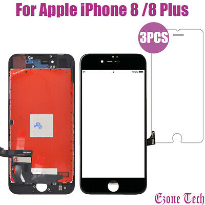 For iPhone 8 8 Plus LCD Touch Display Screen Digitizer Replacement+9 In 1 Tools