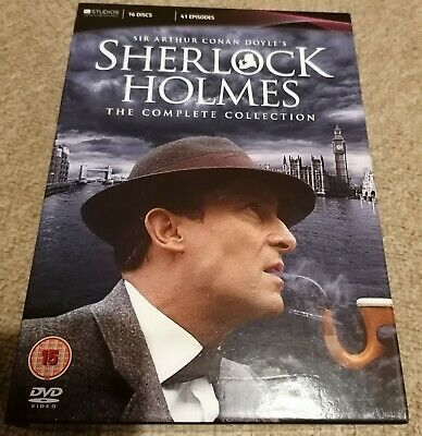 Sherlock holmes complete collection dvd