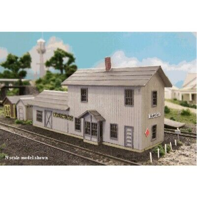 N Scale BLAIR LINE GERALD DEPOT KIT Item #BLR095