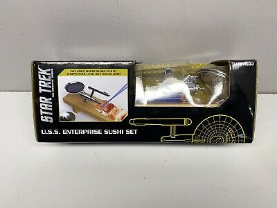 Star Trek U.S.S Enterprise Spaceship Sushi Set New in Box