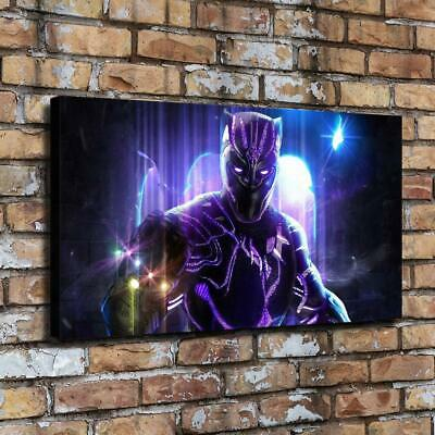 Black Panther HD Canvas printed Home decor painting room Wall art picture poster