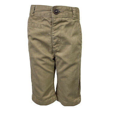 George Boys Beige Camel Chino Style Long Board Shorts Pants UK Age 4-5 Years
