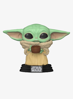 Funko Star Wars The Mandalorian Pop! The Child With Cup Bobble-Head Pre-order