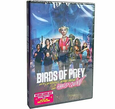 Birds of Prey (and the Fantabulous Emancipation of One Harley Quinn) (DVD) 2 Dis