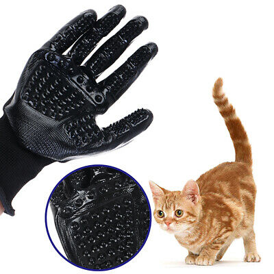 Pet Glove Cat Grooming Glove Cat Hair Deshedding Brush Gloves Dog Comb For