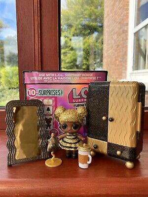 LOL Surprise Doll QUEEN BEE Furniture Set Series 1 Rare