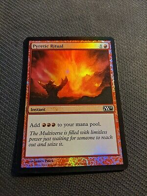 ►Magic-Style◄ MTG NM Pyretic Ritual // Rituel pyrétique M11